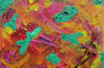 Detail 1 of Colour Drift No. 1